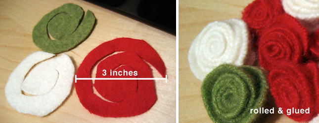Making Felt Rosettes