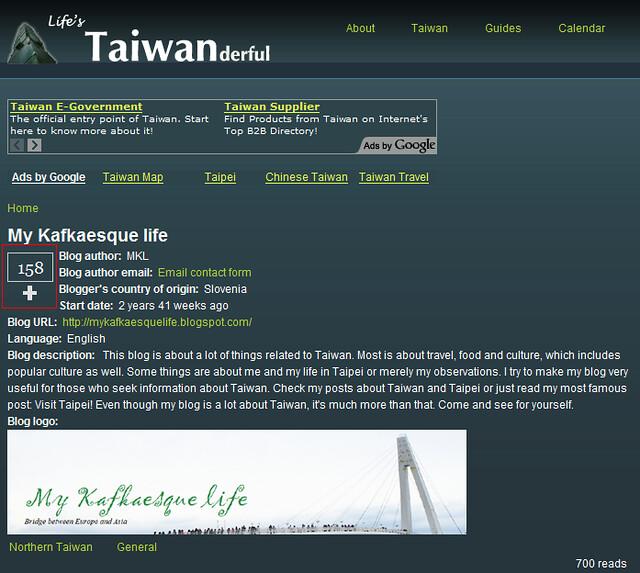 """請按下""""+""""號幫我男友投票,鼓勵他這麼用心介紹台灣的美好,謝謝!"""