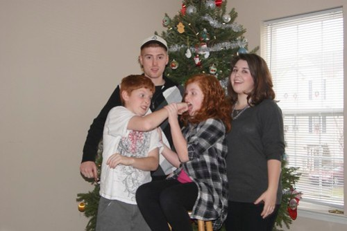 We are a super photogenic family, hah.