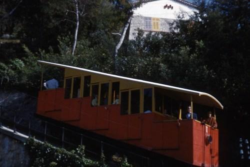 Funiculaire du Super Cannes en 1963