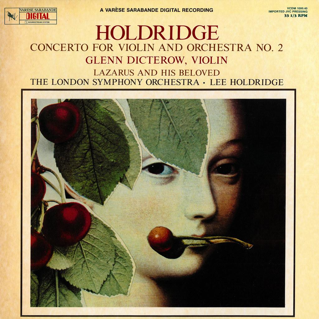 Lee Holdridge - Violin Concerto No. 2