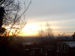 Morning Sun, Mid December,London