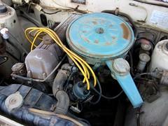 1973 Datsun 610 station wagon engine