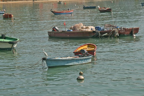 Boats at Lamma Island