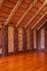 Maori Community house on Waitangi