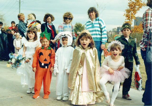 Halloween, 80's style