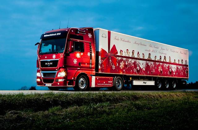 MAN Christmas Truck