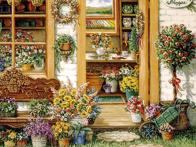 Welcome_to_My_Garden_Art_Painting_10_fancy_flower_shop