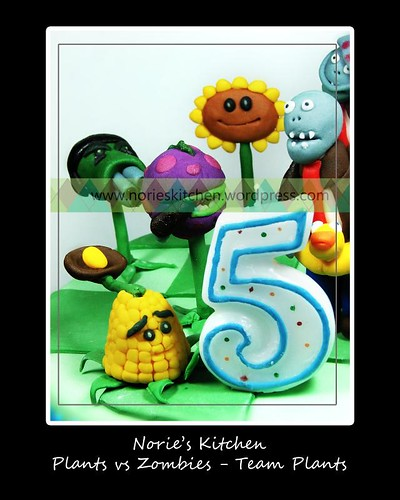 Norie's Kitchen - Plants vs Zombies Cake - Kernel Pult