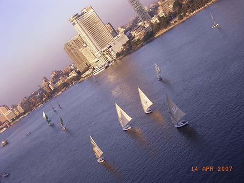 Nileview from my Cairo Balcony_monmajhi