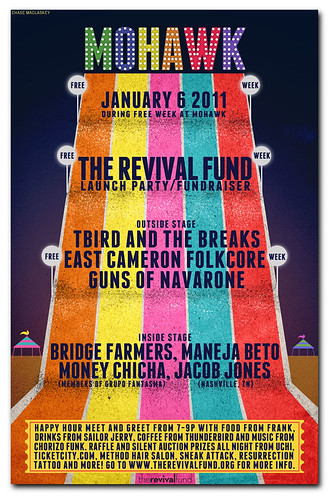 The Revival Fund Launch Party at Mohawk