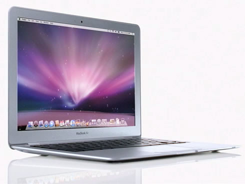 MacBook Air: La computadora portatil mas delgada del mundo