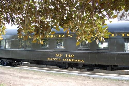 Southern Pacific Train by Amtrak, Santa Barbara