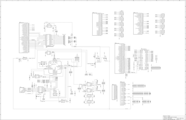 Spartan-6 BGA test board - schematic