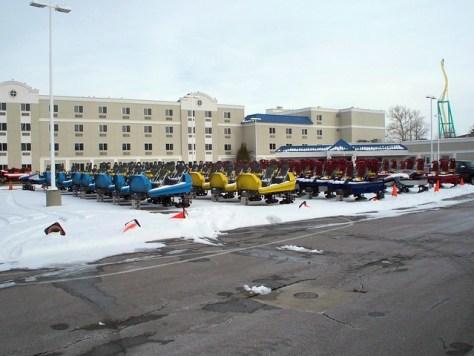 Cedar Point - Coaster Cars