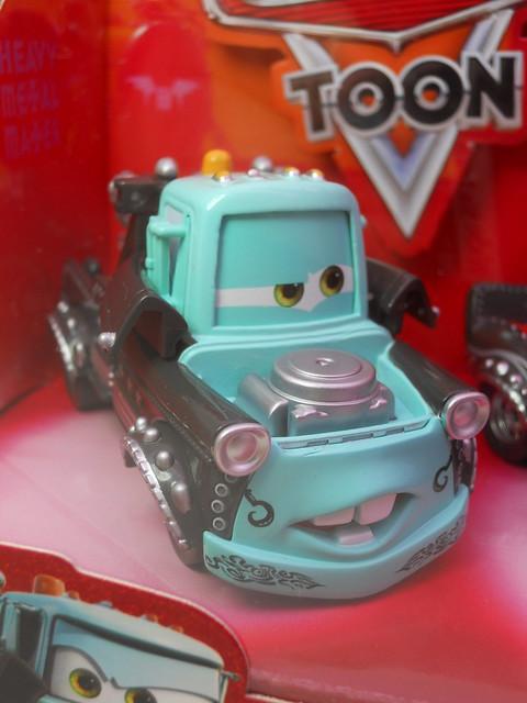 disney cars Heavy Metal Mater 4 pack (2)