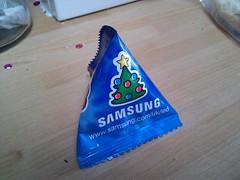 samsung xmas pyramid