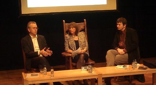 Gunnar Staalesen, Catherine Lockerbie ans Ian Rankin