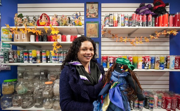 Store owner and her Voodoo doll: Bushwick