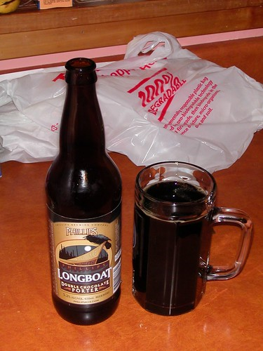 Longboat Chocoloate Porter by Phillips Brewery from Victoria BC
