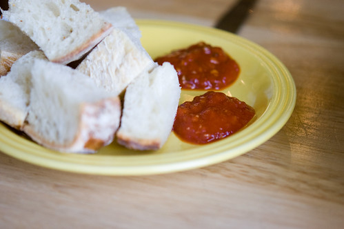 bread + sauce