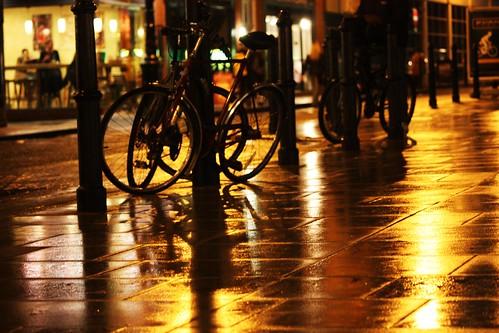 Bikes and Rain