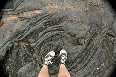 Lava and my Legs