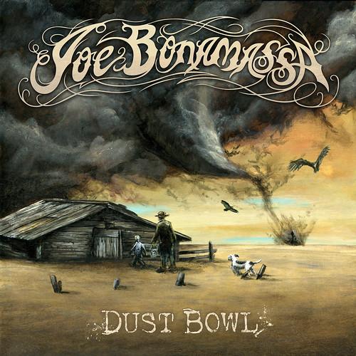 Joe Bonamassa - Dust Bowl , feat. John Hiatt, Glenn Hughes & Vince Gill (album cover)
