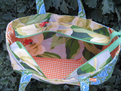 Tailored Bag pattern by Craft Apple