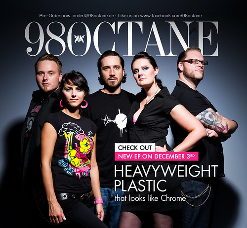 98 Octane EP cover-/ artwork shoot