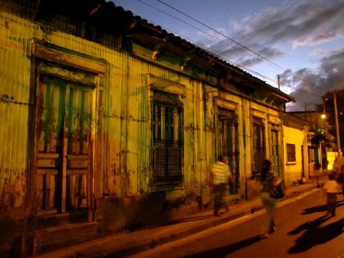 El cielo del centro de San Salvador