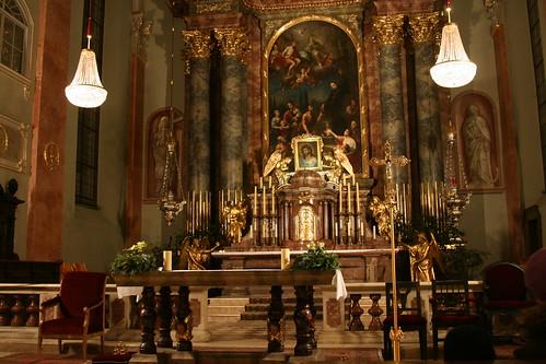 "Stadtpfarrkirche ""St. Egyd"" in Klagenfurt"