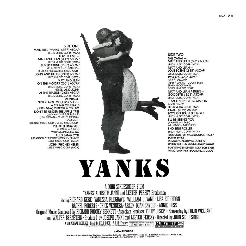 Richard Rodney Bennett - Yanks