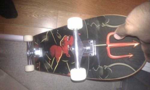 My new Skateboard