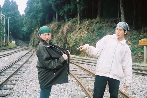 阿里山森林火車鐵軌3