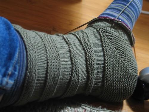 turned heel