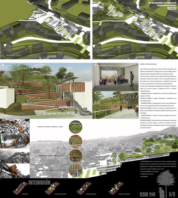 4 Concurso de Anteproyecto para la Integración Urbana del Centro Simón Díaz