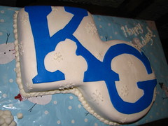 K&G Bike Center Xmas Cake