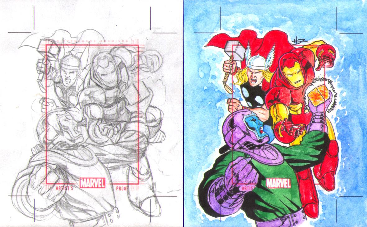 avengers vs kang