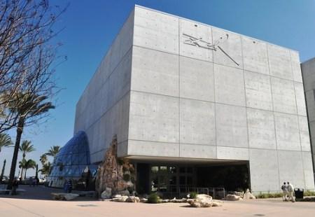 Exterior of the Salvador Dali Museum, Jan. 14, 2011
