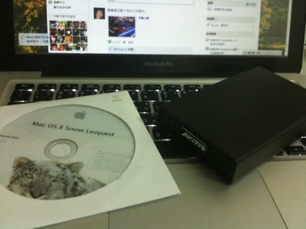 硬碟以及雪豹光碟