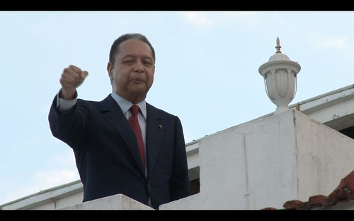 Duvalier Fist Bump