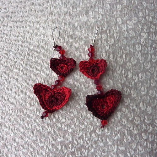 Lobes of Love - Valentine Heart Earrings