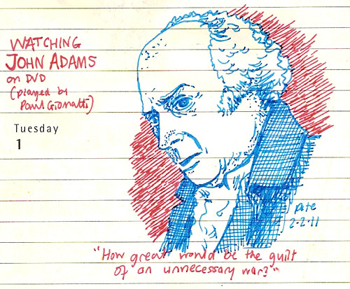 john adams (well, paul giamatti)