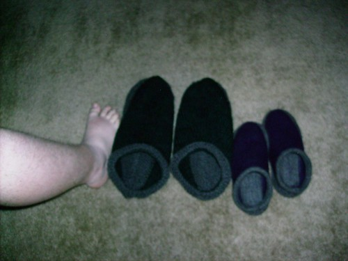 Size Comparison - Manfoot to Giant Clog
