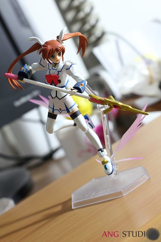 figma Takamachi Nanoha Barrier Jacket ver. - Mini Skirt