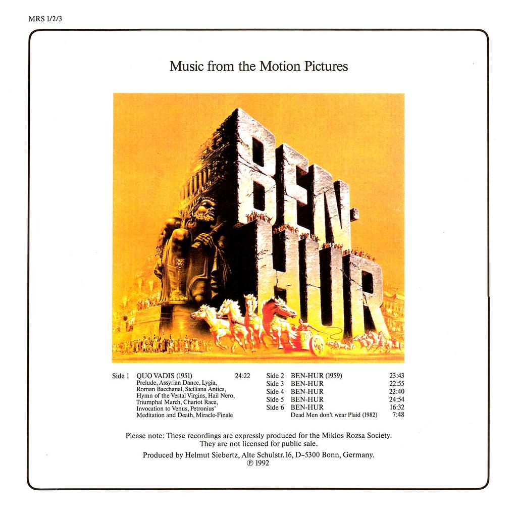 Miklós Rózsa - Quo Vadis / Ben-Hur