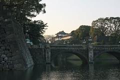 皇居外苑・二重橋(The Outer Garden of Tokyo Imperial Palace)