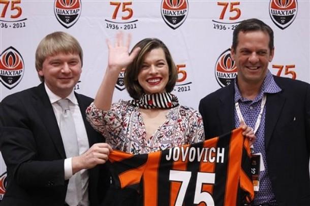 Milla Jovovich Shakhtar Donetsk