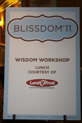 Land O Frost Wisdom Workshop Lunch